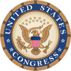 U.S. Congress seal.