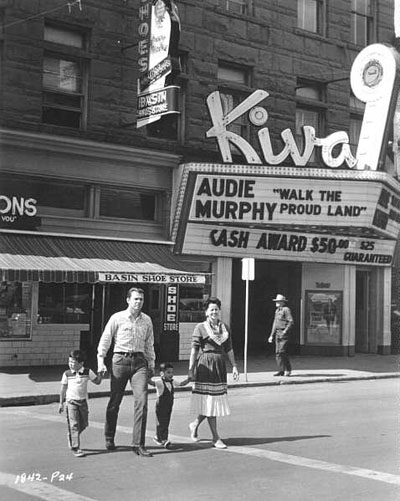 A family photo of Audie Murphy