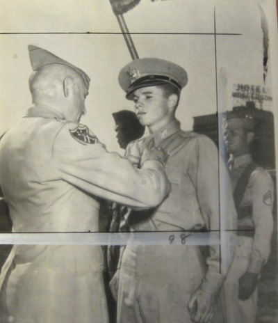 A military photo of Audie Murphy