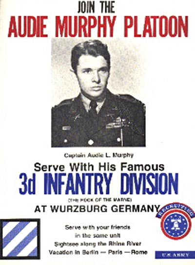 3rd Infantry Division recruiting poster.