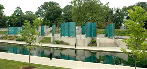 Congressional Medal of Honor Memorial, Indianapolis, Indiana. Photo source: http://www.medalofhonormemorial.com