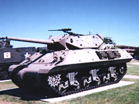 M10 Tank Destroyer, 4th Infantry Division Museum, Fort Hood, Texas.