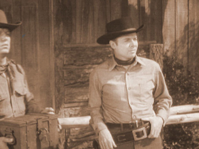 "THE DEVIL""S SHARE photo from Audie Murphy's television series WHISPERING SMITH"