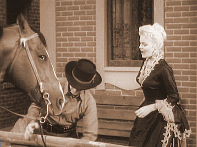THE STAKE-OUT photo from Audie Murphy's television series WHISPERING SMITH