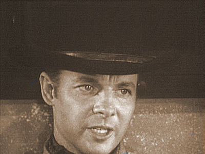THE DEADLIEST WEAPON photo from Audie Murphy's television series WHISPERING SMITH