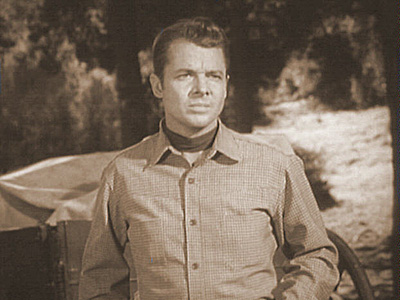 DEATH AT EVEN MONEY photo from Audie Murphy's television series WHISPERING SMITH