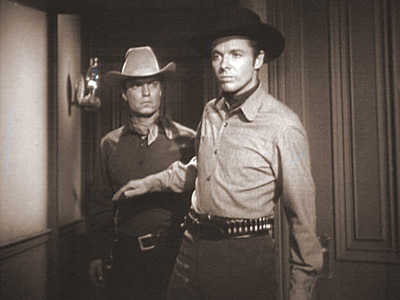 CROSS CUT photo from Audie Murphy's television series WHISPERING SMITH