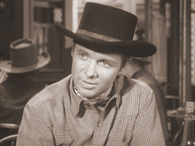 DOUBLE EDGE photo from Audie Murphy's television series WHISPERING SMITH
