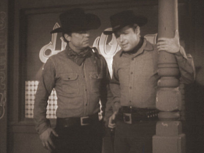 DARK CIRCLE photo from Audie Murphy's television series WHISPERING SMITH