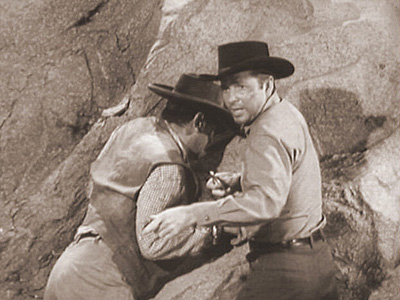 PRAYER OF CHANCE photo from Audie Murphy's television series WHISPERING SMITH