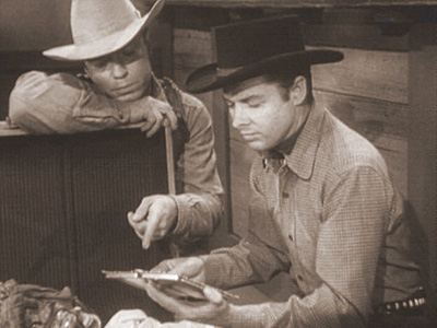HIRED TO DIE photo from Audie Murphy's television series WHISPERING SMITH